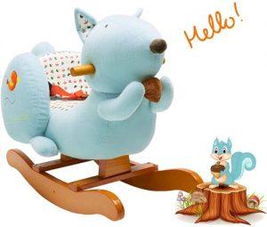 Labebe Stuffed Animal Rocker Toy WADDLE Bouncy Ride On Dinosaur