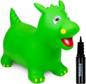 waddle bouncy ride on dinosaur