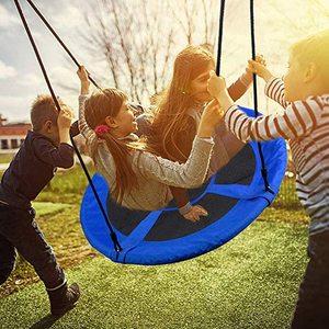 31 Inch Round Playground Swing - Outdoor Swing Swingset